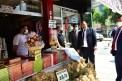 Başkan Vidinlioğlu, esnafın ve halkın sorunlarını dinledi
