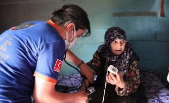 Kırsal bölgedeki vatandaşlara UMKE'den yardım eli