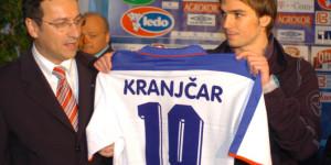 23.01.2005.,Split - Docek Nike Kranjcara,igraca Hajduka Photo: Tino Juric/PIXSELL