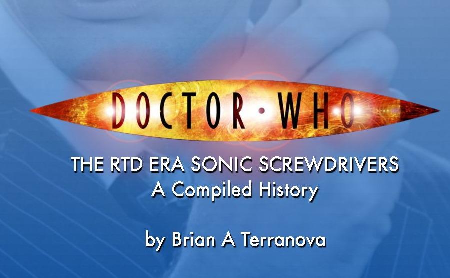 RTD Era Sonic Screwdriver Ebook