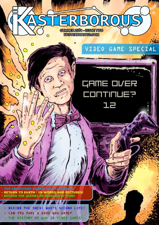 Doctor Who video games in Kasterborous Magazine #2