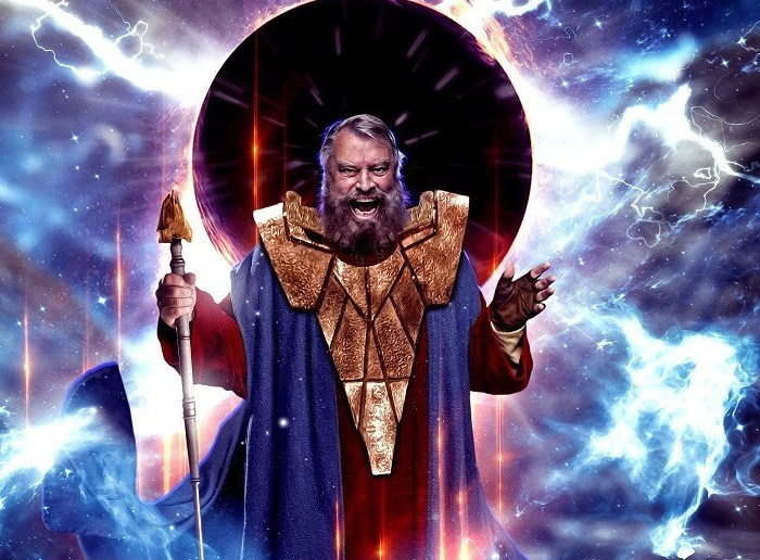 Brian Blessed as Doctor Who's Omega