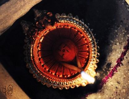 Decorative Earthen Lamp