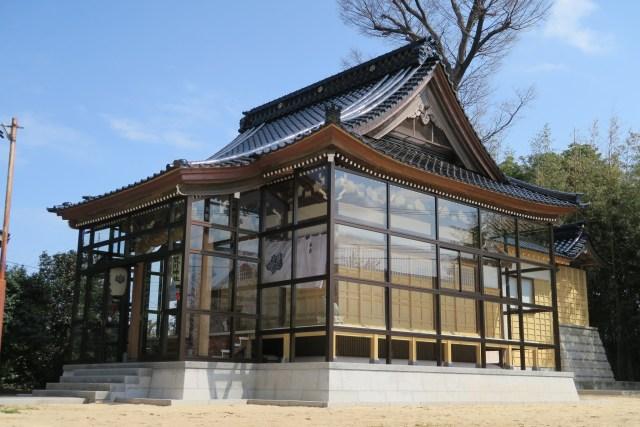 荒川神社 社殿