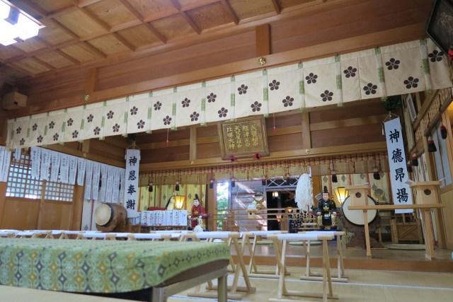 増泉春日神社の正式参拝