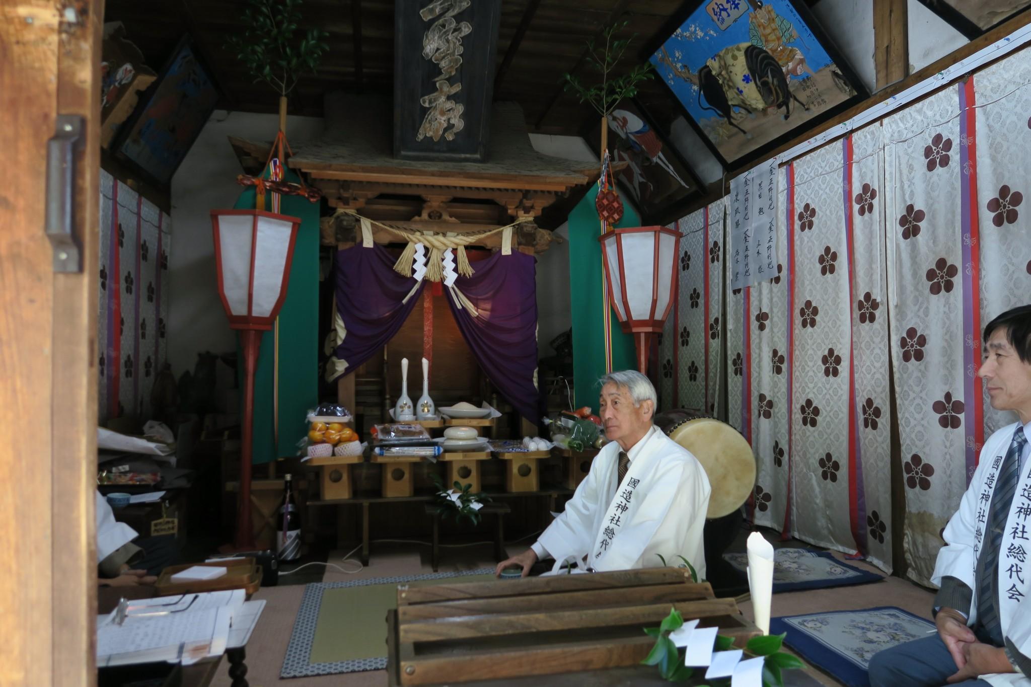 平成27年菅原神社秋祭り1