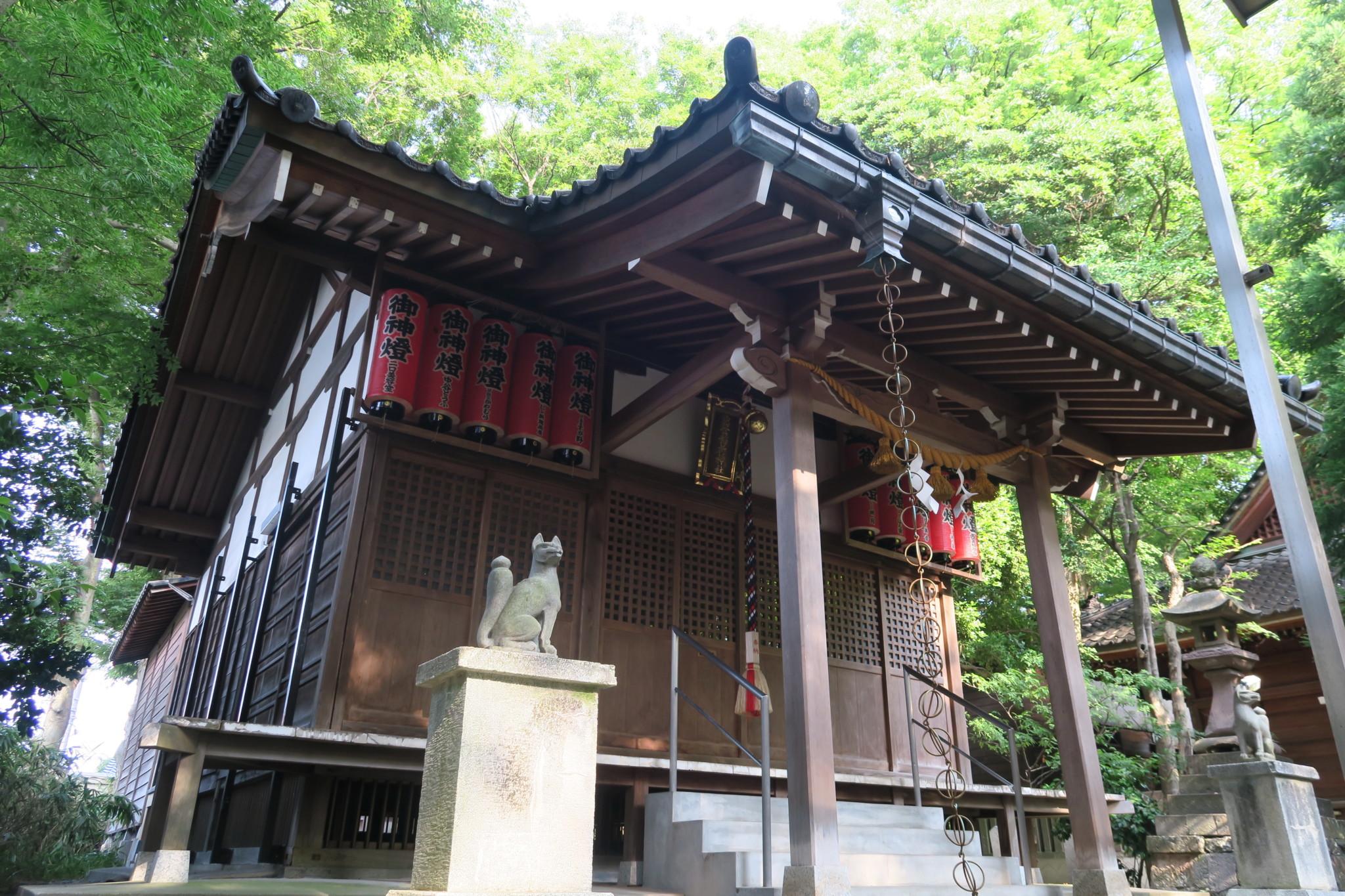 出世稲荷神社(平成30年7月26日)