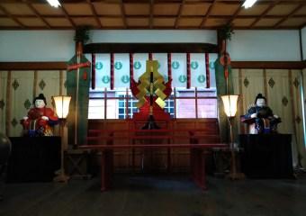 出世稲荷神社 拝殿祭器具の改修が決定