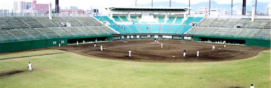 画像:野球場グラウンド