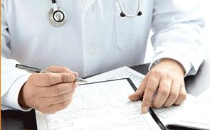 担当医師による同意書の交付
