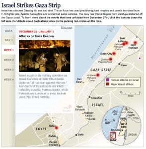 Israel Strikes Gaza Strip - washingtonpost.com