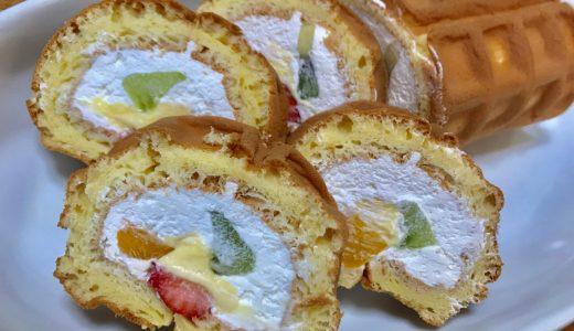 R.L waffle cake(エール・エルワッフルケーキ)くるくるワッフル フルフルフルーツ
