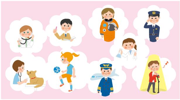 ディズニー英語ブック「小学校で知っておきたい英単語1000」イラスト1