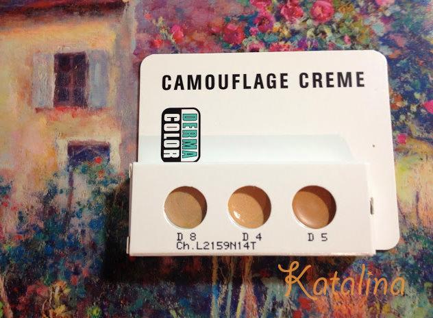玩美雀斑妝   KRYOLAN歌劇魅影「百分百調色幻顏盤 Dermacolor Camouflage Creme Trio Set」