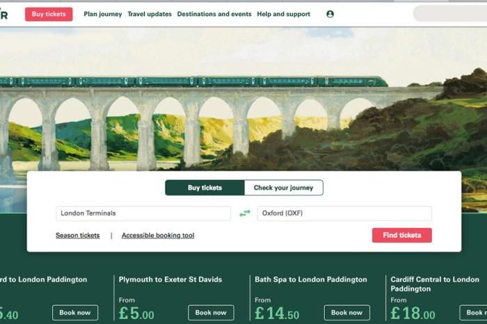 鐵道玩轉英國 | 火車GWR 2018 一月特價幫大忙