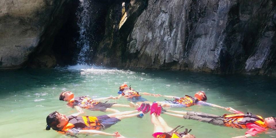 亞比亞納 阿里山茶山村   D2 炎夏最愛水上活動 玩到不想回家