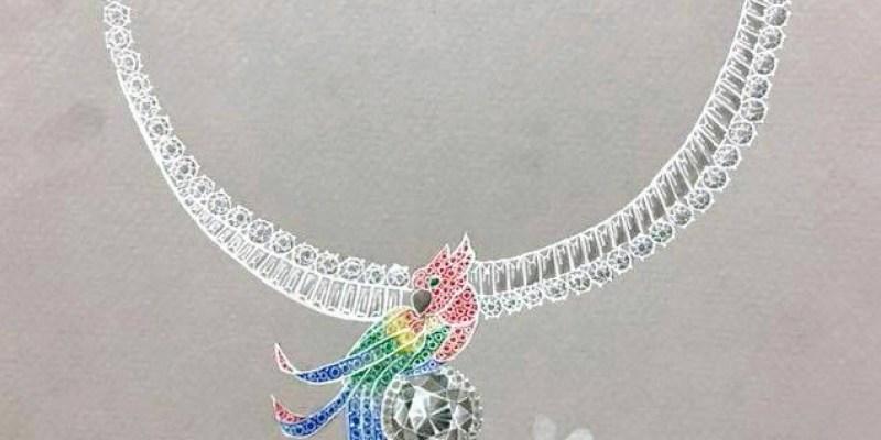 珠寶設計 | 套鍊習作 繽紛禮讚 Coloré