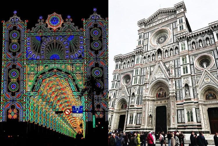 台北光之饗宴 Luminarie光雕展 | 再現佛羅倫斯 聖母百花大教堂樣貌