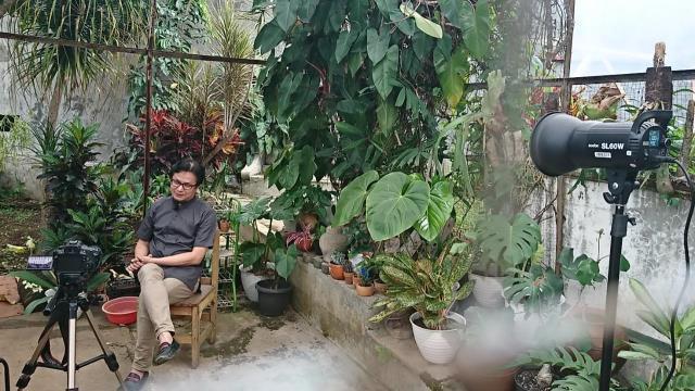 Katalisnet Syuting Vodcast Religi Suara Hati Dany Java Jive