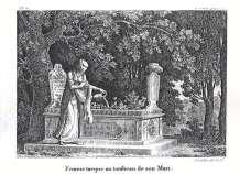 Antoine Laurent Castellan - Monemvasia, Tourkikos tafos (1797)