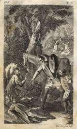 MONFORT -Don Quijote, La caida del Caballero de los espejos, 1771.