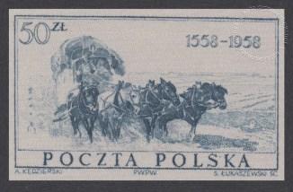 400-lecie Poczty Polskiej - 934