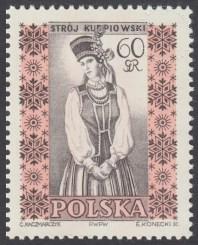Polskie stroje ludowe - 997B