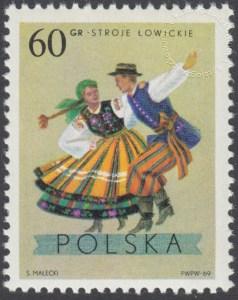 Polskie stroje Ludowe - 1805