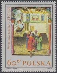 Rzemiosło polskie w XVI wiecznym malarstwie z kodeksu Baltazara Behema - 1817