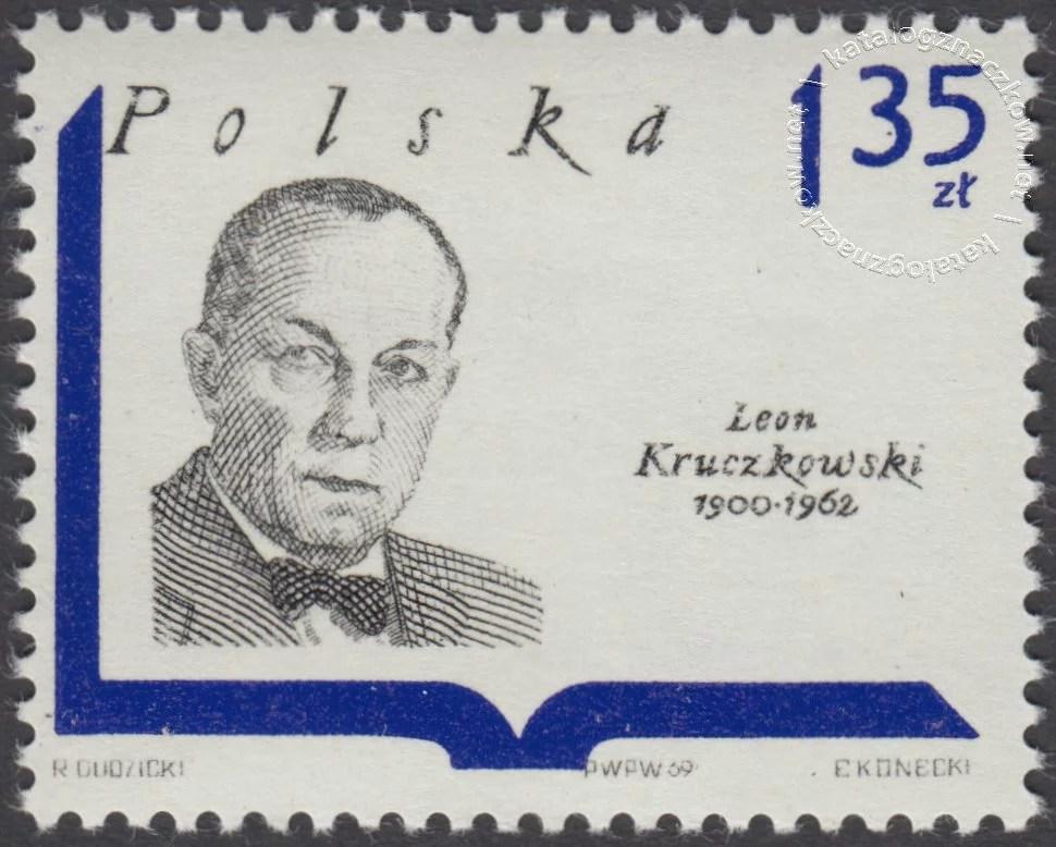 Współcześni pisarze polscy znaczek nr 1834