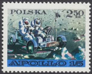 Badanie kosmosu Łunochod 1 i Apollo 15 - 1976