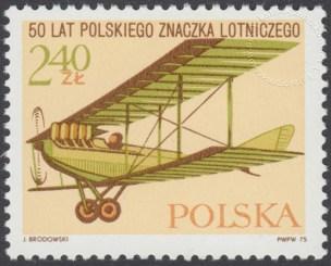 50 lecie polskiego znaczka lotniczego - 2251