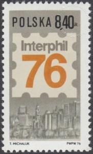 Międzynarodowa Wystawa Filatelistyczna Interphil 76 w Filadelfii - 2297