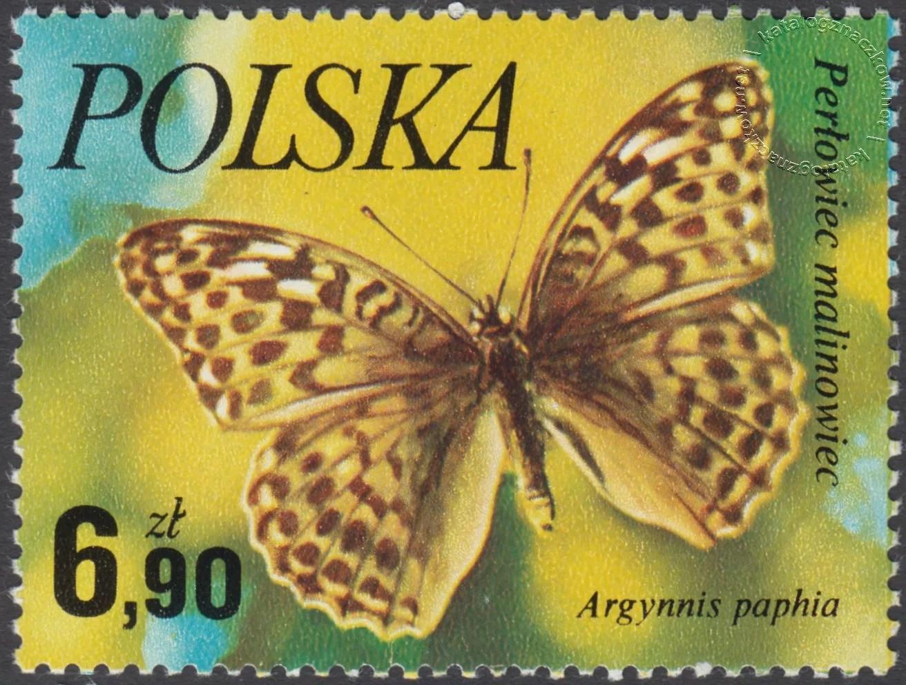 Motyle znaczek nr 2374