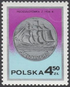 Dzień znaczka - monety polskie - 2382