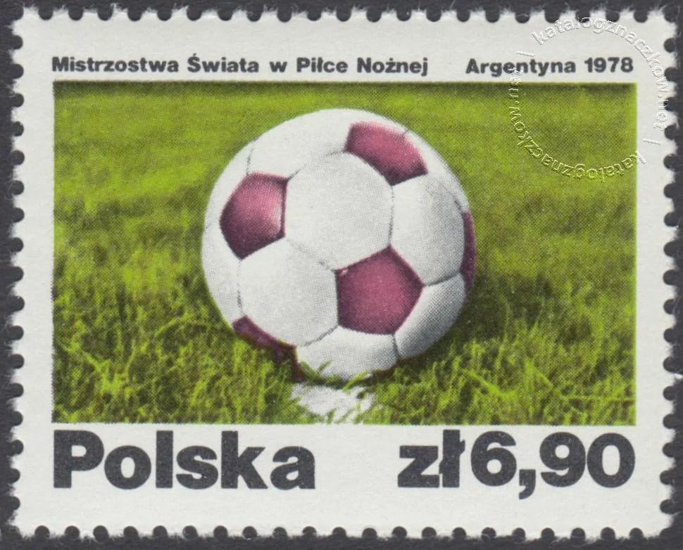 Mistrzostwa świata w piłce nożnej w Argentynie znaczek nr 2411