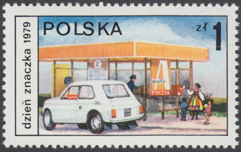 Dzień Znaczka – postęp pocztowy znaczek nr 2503