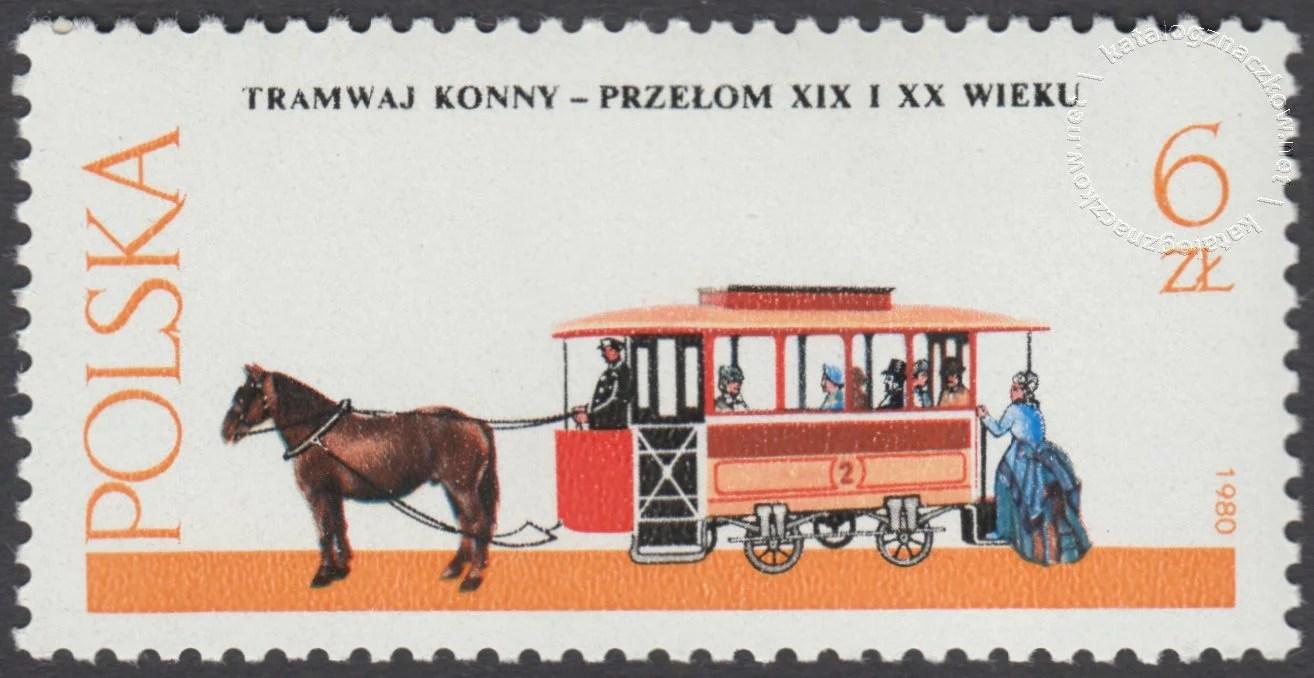 Warszawskie pojazdy konne znaczek nr 2577