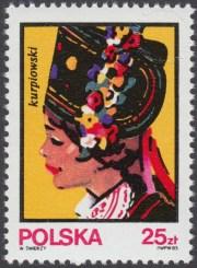 Kobiece stroje ludowe - 2747