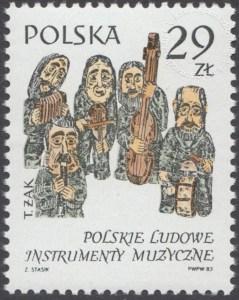 Polskie ludowe instrumenty muzyczne - 2756