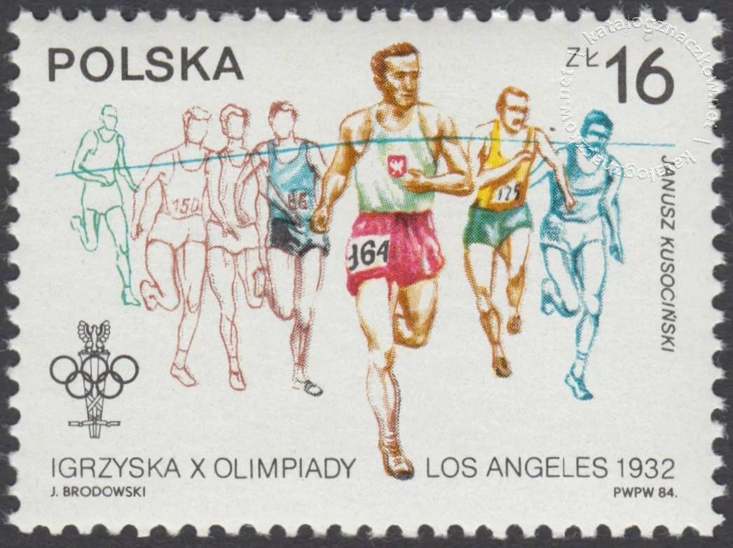 XIV ZIOl w Sarajewie i XXIII IOl w Los Angeles znaczek nr2768