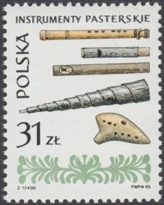 Polskie ludowe instrumenty muzyczne - 2836