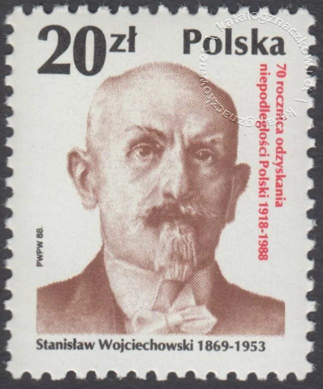 70 rocznica odzyskania niepodległości Polski znaczek nr 3024