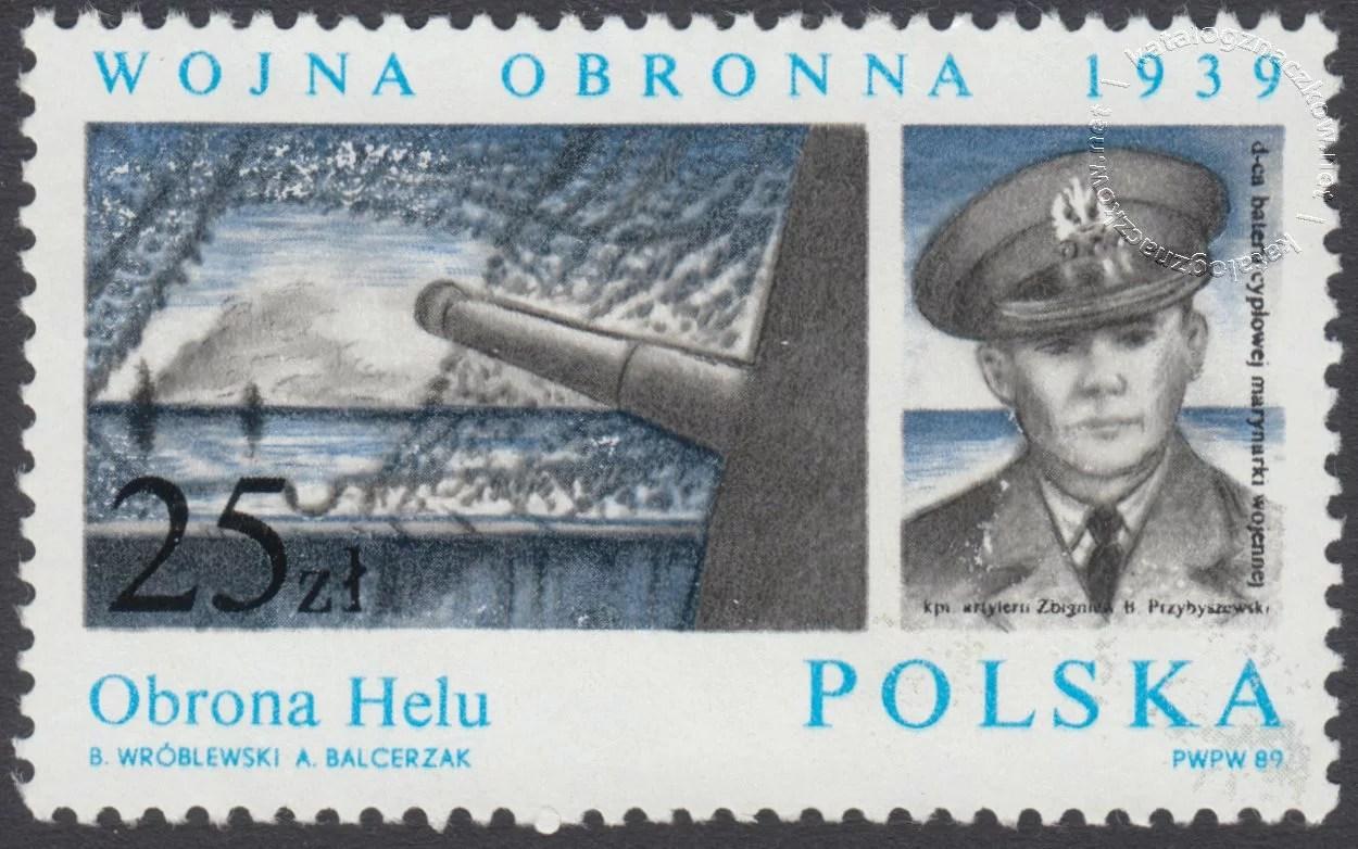 50 rocznica Wojny Obronnej 1939 znaczek nr 3069