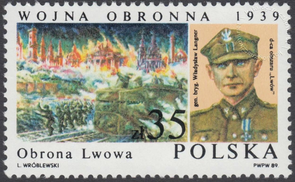 50 rocznica Wojny Obronnej 1939 znaczek nr 3071