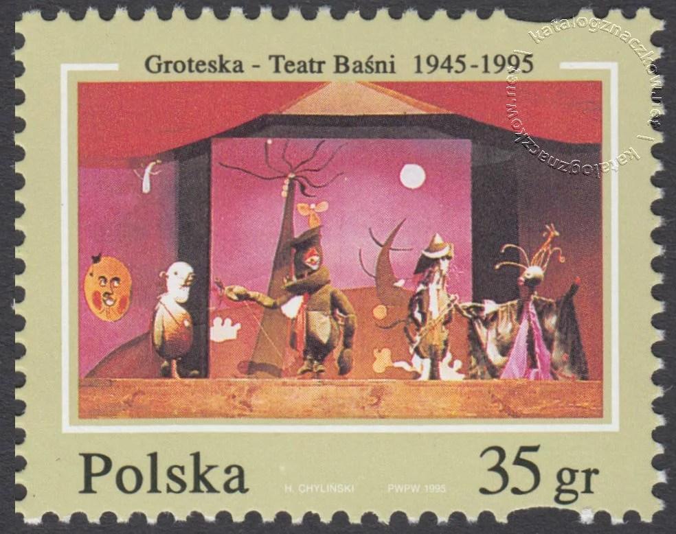 Groteska – Teatr Baśni 1945-1995 znaczek nr 3390