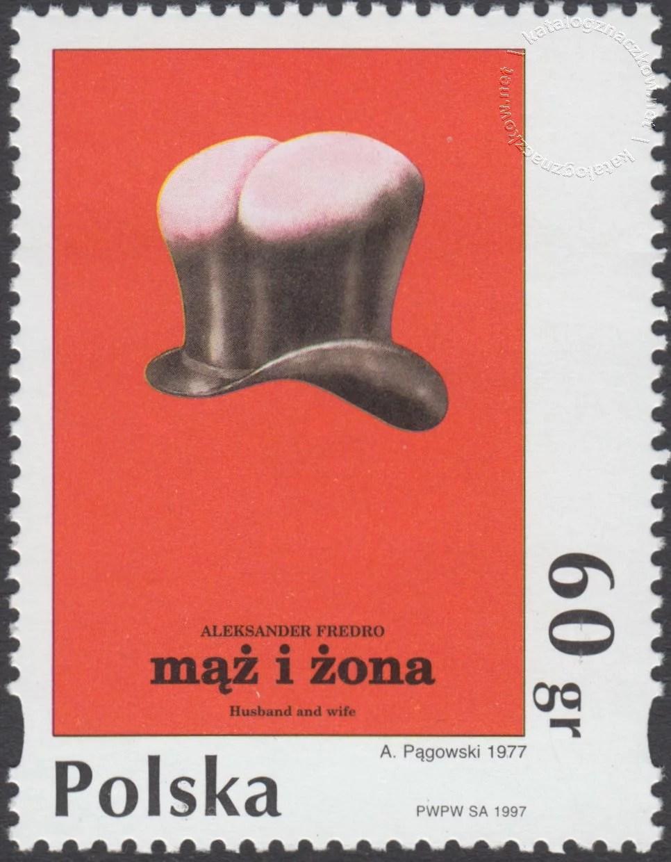 Plakat polski znaczek nr 3533