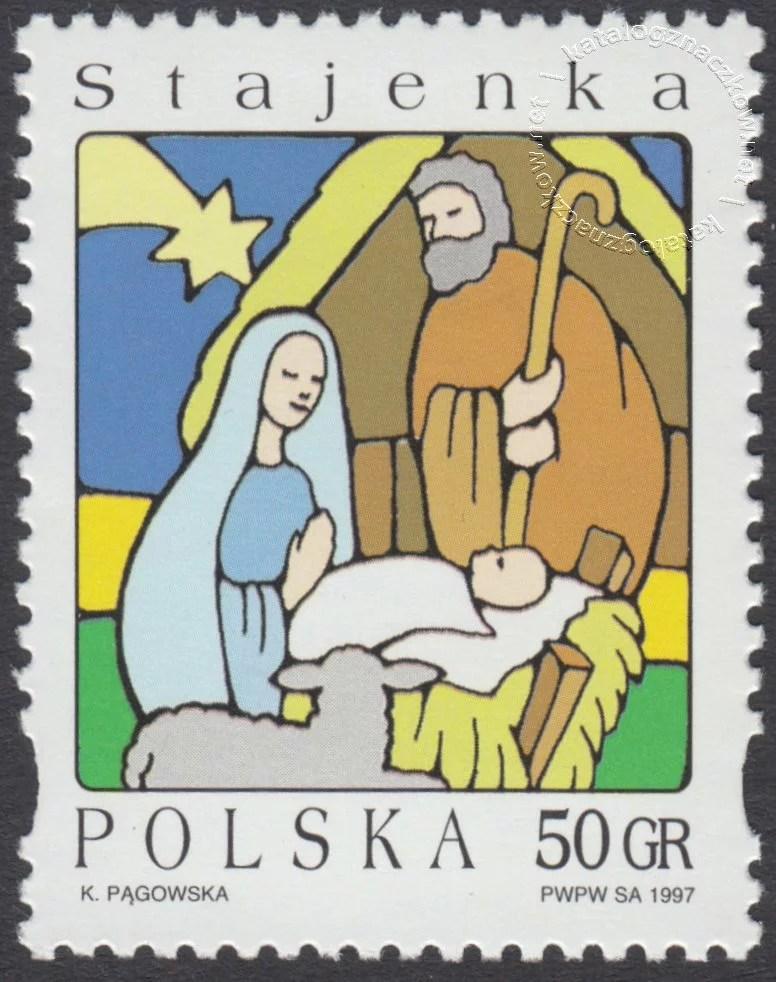 Boże Narodzenie znaczek nr 3534