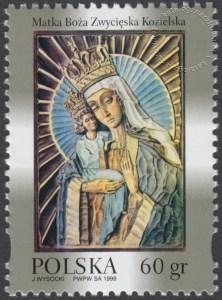 Wizerunek Matki Bożej - patronki jeńców żołnierzy na Wschodzie - 3605