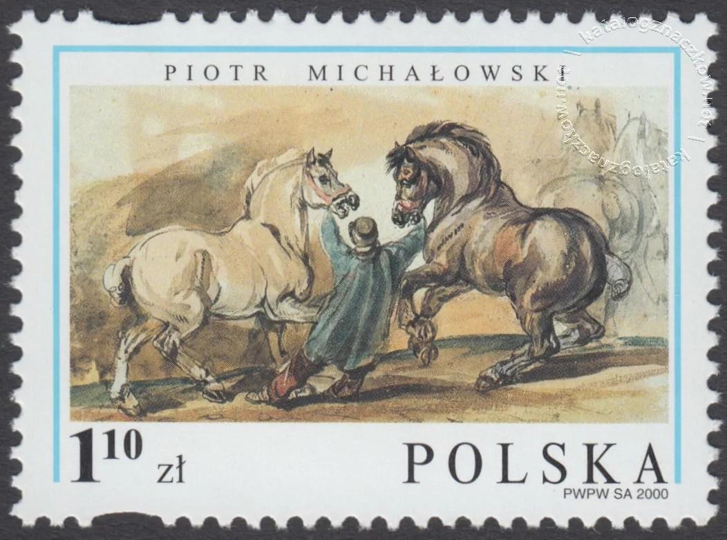 200-lecie urodzin Piotra Michałowskiego znaczek nr 3700